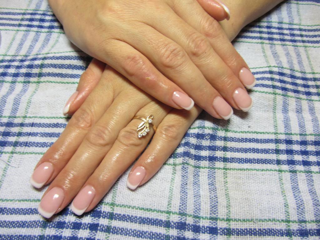Пудровое покрытие ногтей