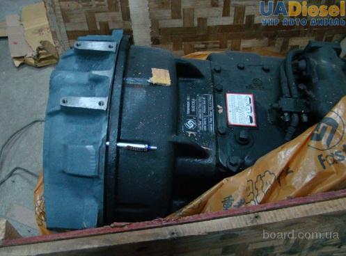 Стыковка Коробки передач КПП ZF с двигателем ЯМЗ.