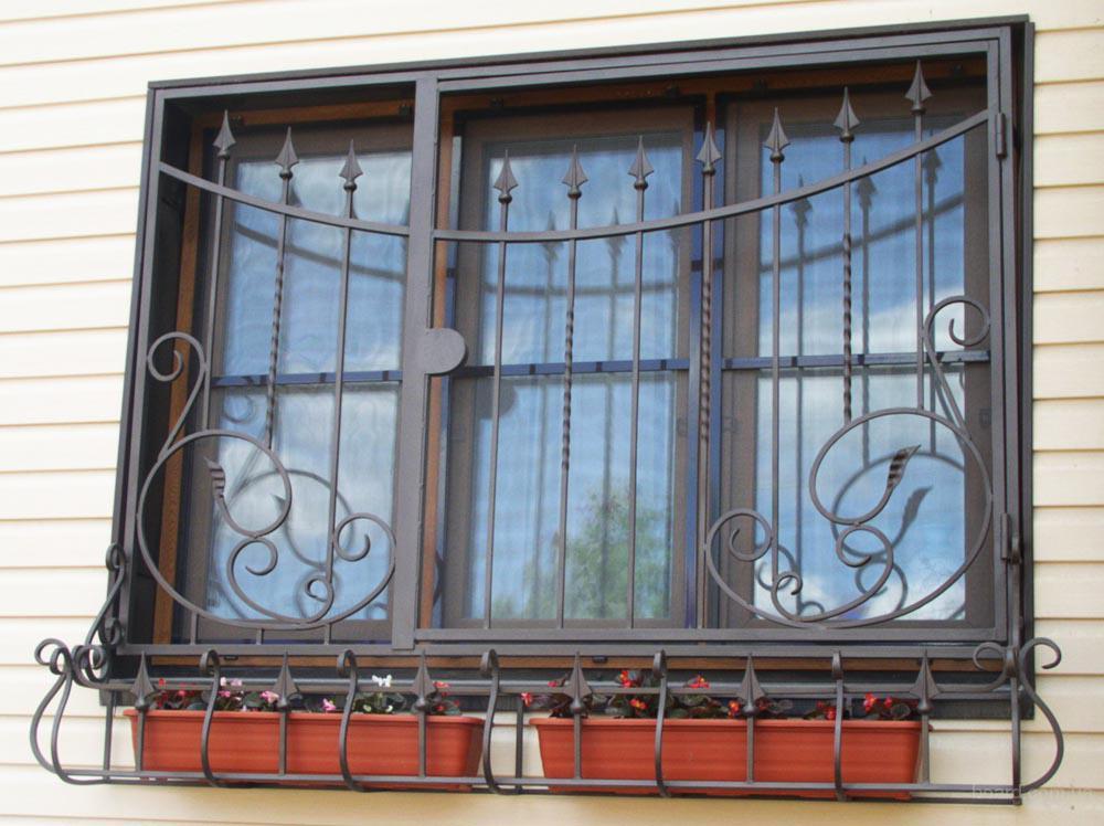 Окно из металла