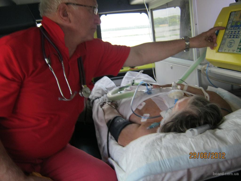 Транспортировка пациента в стационар