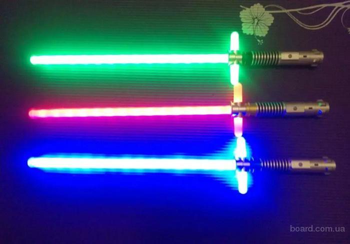 Световой меч Кайло Рена Звездные войны, короткий