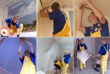Быстрый монтаж натяжных потолков от компании Деми-Луне в Киеве и регионах