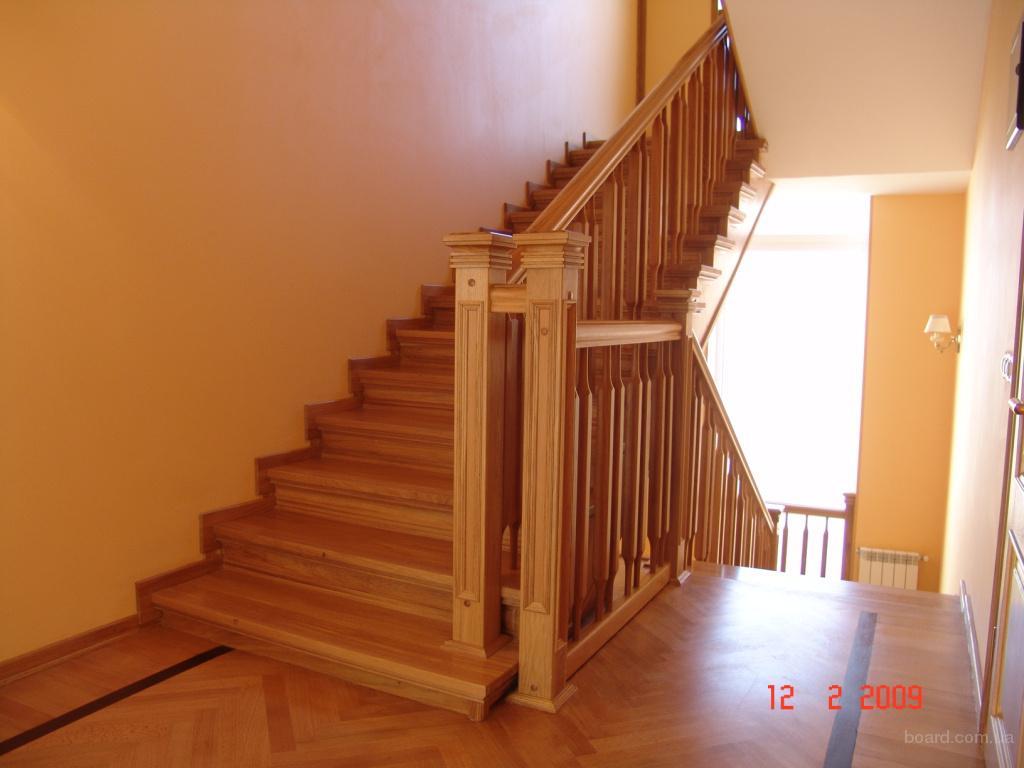 лестницы деревянные изготовление московская область