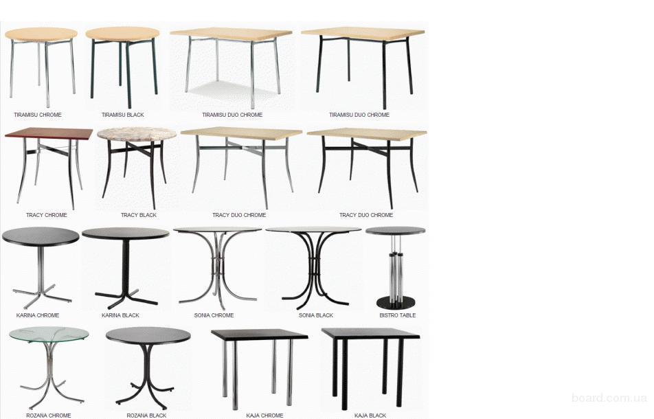 Базы для столов,опоры для барных столов, столешницы Верзалит