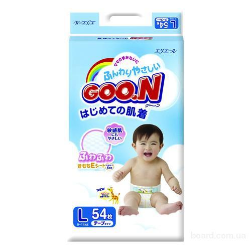 Подгузники Goo.N Ultra Jumbo Pack Трусики 12-20кг 50шт для девочек 4902011751543