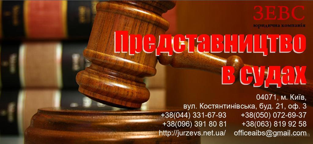 Представительство в суде по следующим направлениям