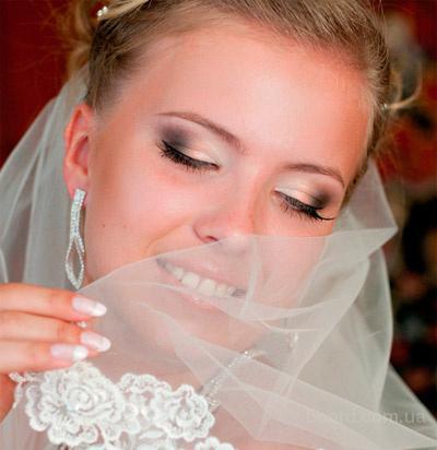 Свадебный макияж на дому в Киеве