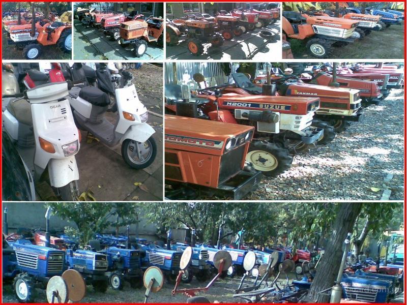Японские б.у. мини трактора, мопеды, скутера. продам.