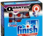 Finish Quantum таблетки для ПММ