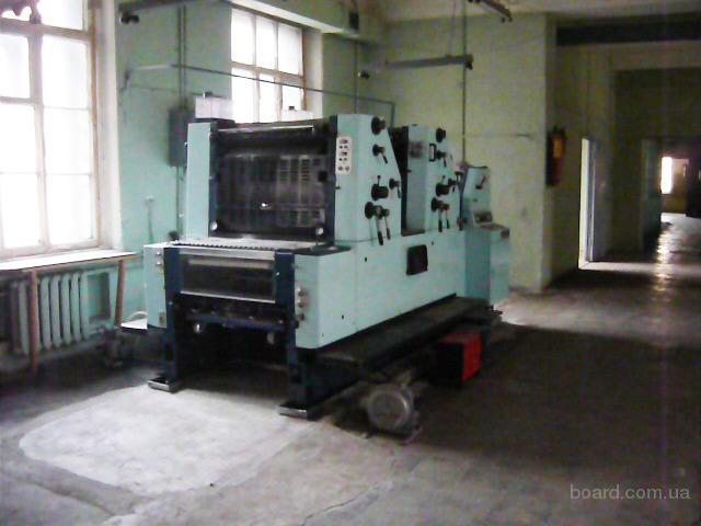 СРОЧНО продам печатную машину Sakurai Oliver 272 (1991 года выпуска).