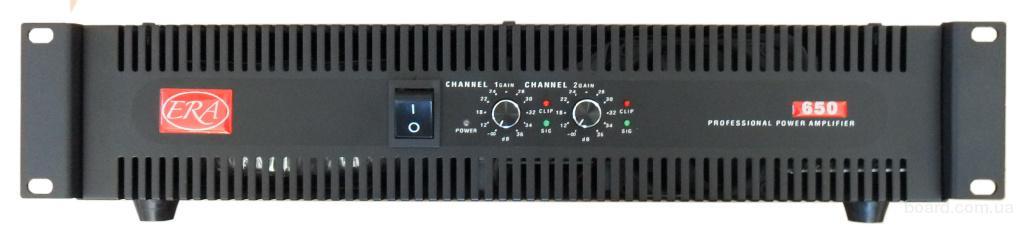 Усилитель мощности звука ERA – 650м.