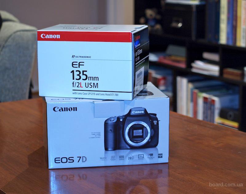 Canon EOS 7D Body и другие фотоаппараты