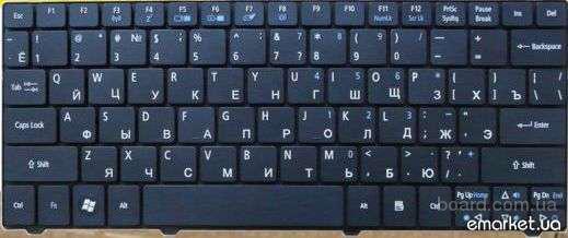 Клавиатура Acer Aspire 1810 1820 1820P 1