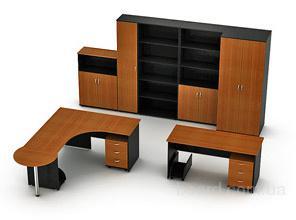 Офисная мебель на заказ любой сложности из ДСП и МДФ  -Cтолы для сотрудников и руководителей,  -Шкафы, шкафы-купе,  -Полки, стеллажи,  -Компьютерные с