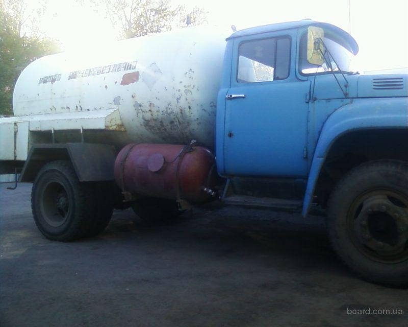 Продам газовоз ЗИЛ-130, объем бака 7 м.куб, в рабочем состоянии