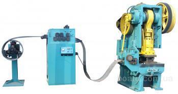 Комплекс оборудования для выполнения операций холодной штамповки (пробивки, вырубки, гибки...