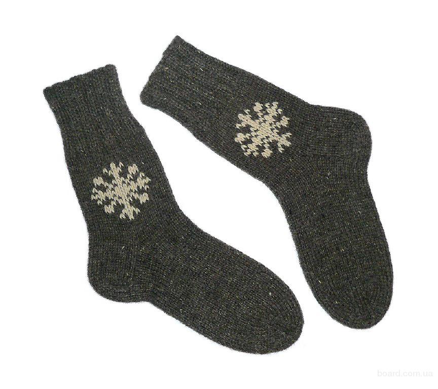 Носки вязаные (40 размер)