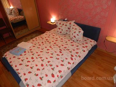 Аренда посуточно двухкомнатной квартиры в Харькове. Жилье на сутки.