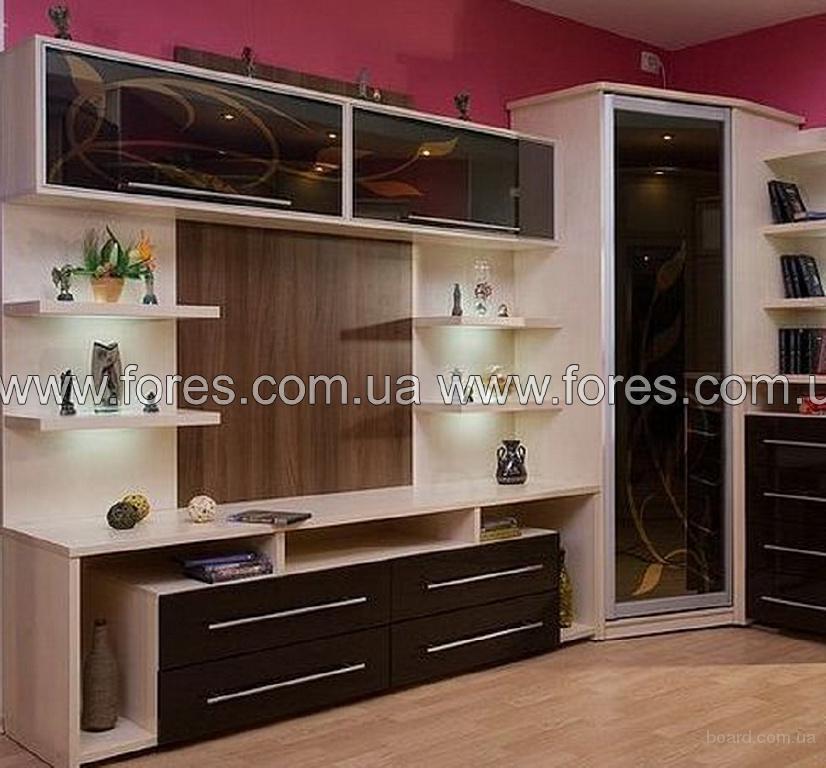 Продажа стенок для гостиной, купить мебель в Киеве от производителя