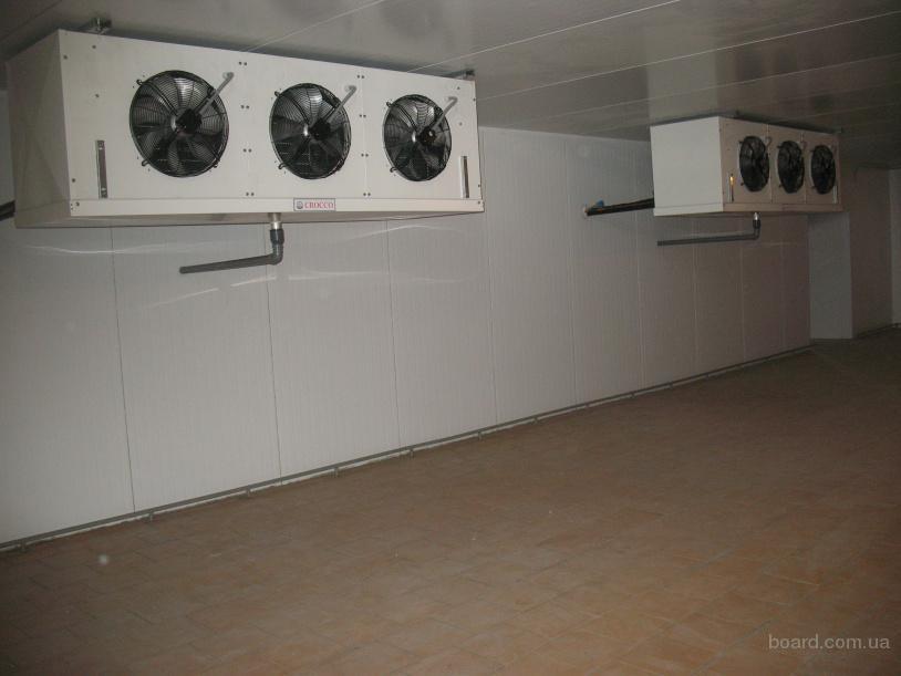Холодильные камеры,морозильные склады с установкой в Крыму.