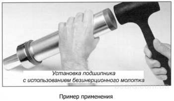 Индукционный нагреватель экономит энергию и время, т.к. нет необходимости предварительно нагревать подшипник (деталь).