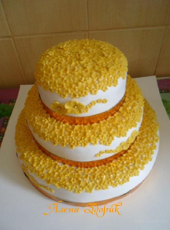Рецепты ярусных тортов фото