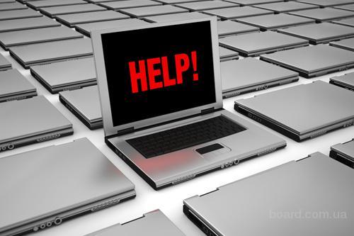 Ремонт компьютеров, установка Windows (бесплатный выезд)