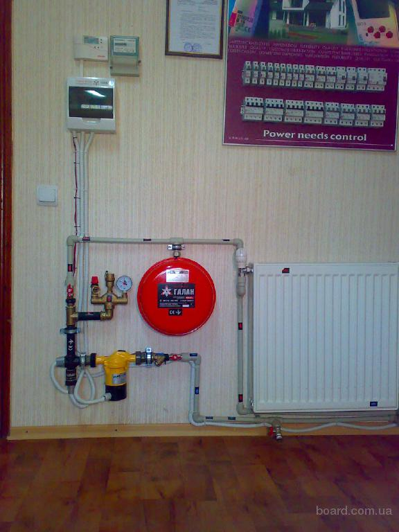 Електродний котел Галан для отопления