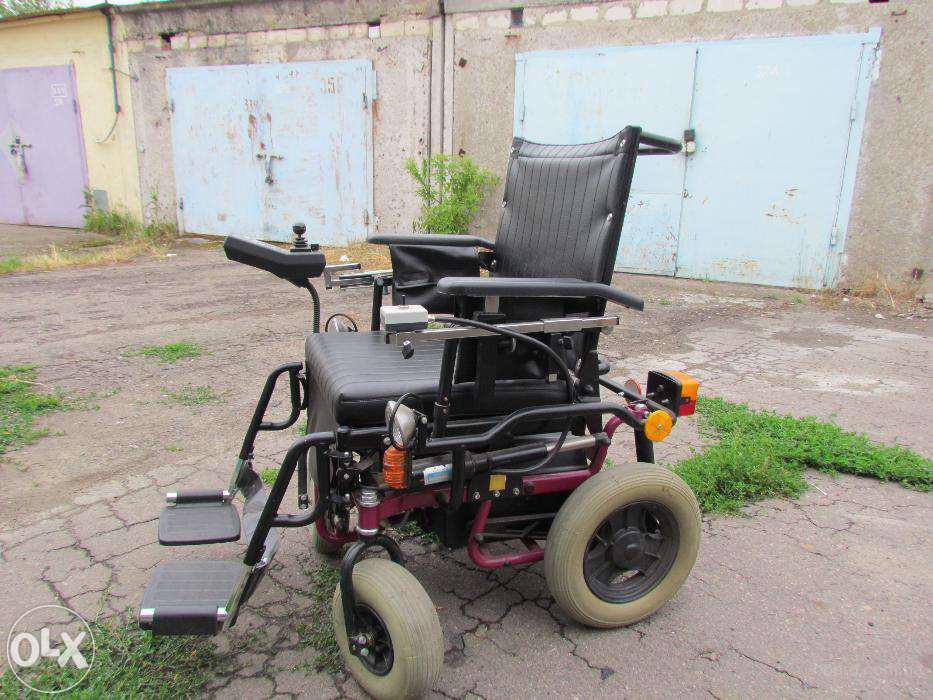 """Инвалидная коляска с электроприводом """" Garant G23"""""""