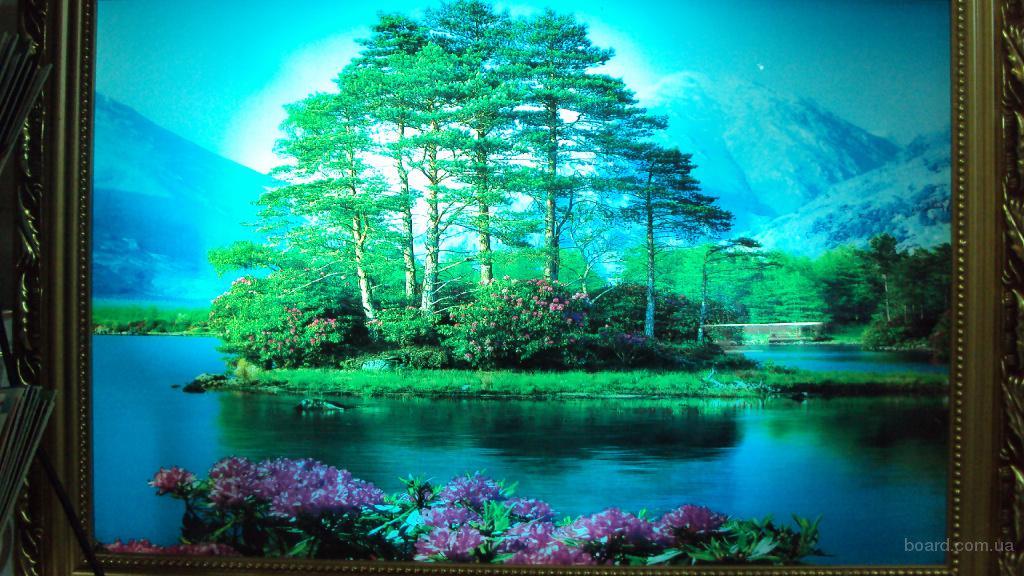 Картина водопад музыкальная