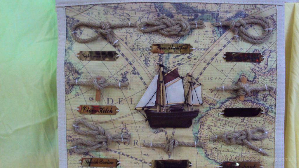Картины своими руками морская тематика