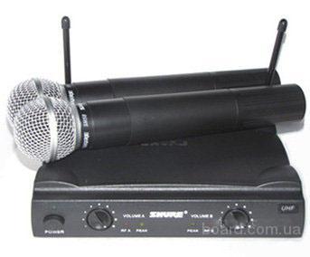 SHURE микрофонная радиосистема UHF 4 беспроводная