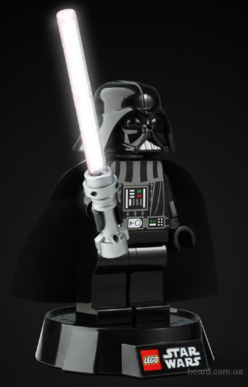 Настольная лампа Дарт Вейдер LEGO