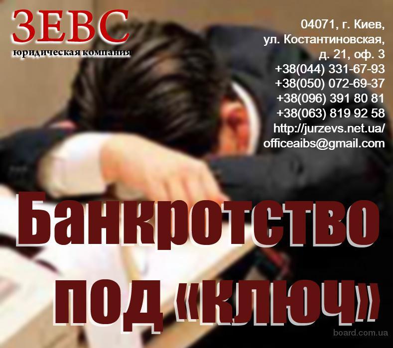 банкротство предприятия оформление
