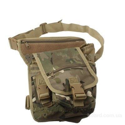 продам. грн.  Тактическая сумка с креплением на пояс и ногу для активного отдыха.  220.