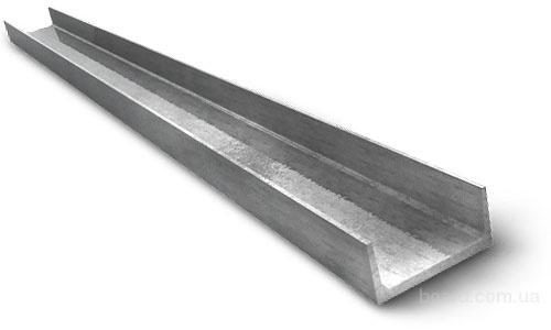 Швеллер алюм., швеллер алюминиевый, швеллер алюминиевый 80*40*4мм