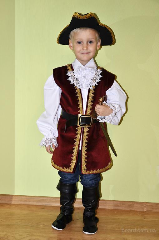 Детские карнавальные костюмы пират капитан в Одессе ... - photo#9
