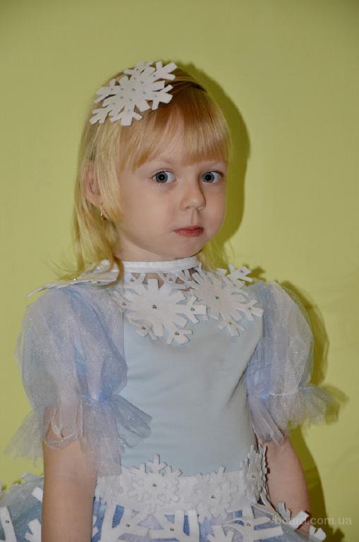 Прокат детских карнавальных костюмов в Одессе снежинка ... - photo#17
