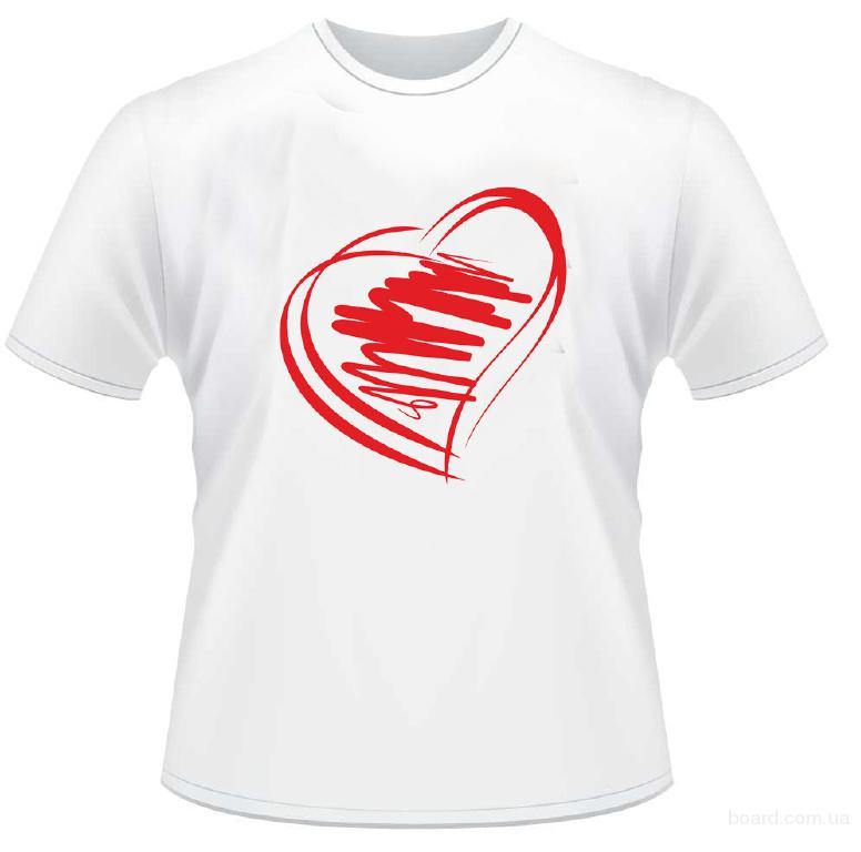 пленочная печать футболки