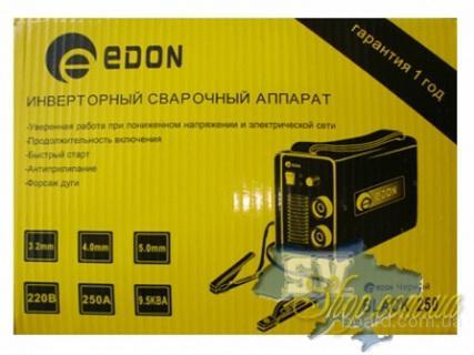 Фотографии Сварочный инвертор EDON MMA-250 Black.