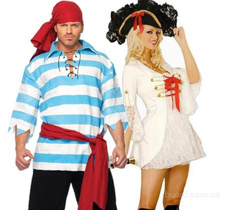 Костюм Пирата для карнавала, фотосессии, мужской и женский