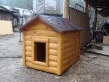 Будка для собаки из блокхауса