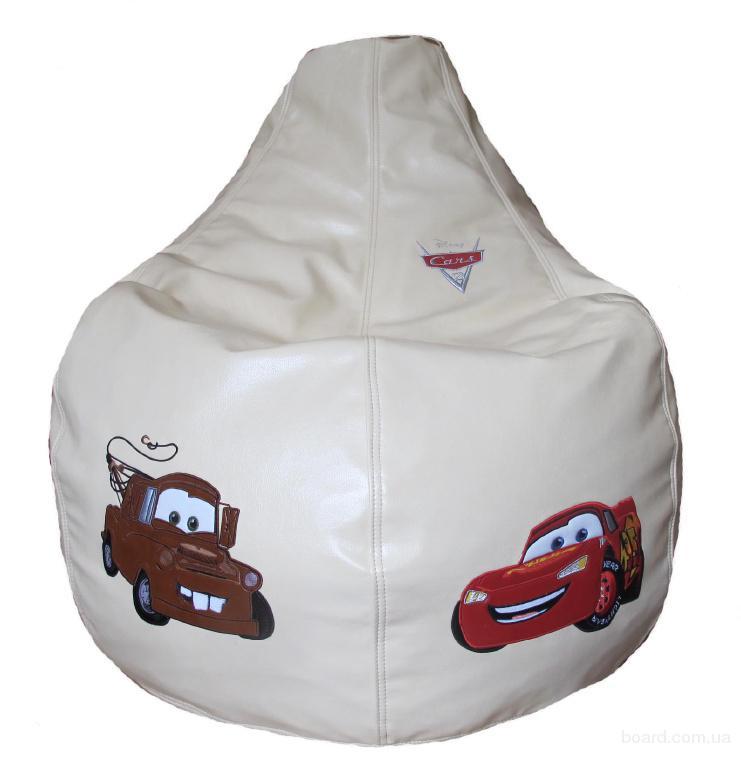 Кресло мешок, пуфы, подушки с индивидуальной вышивкой