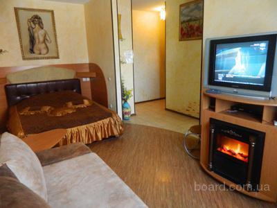 Посуточно красивая 1 комнатная квартира в центре Харькова на пр.Ленина.