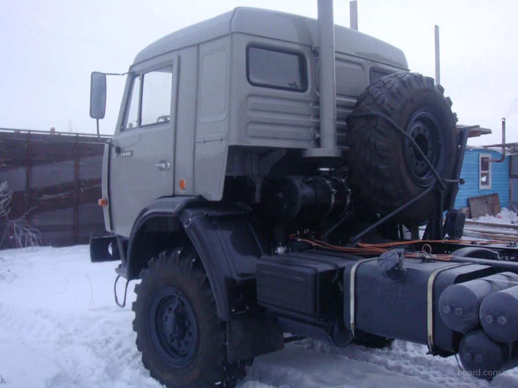 КАМАЗ 4310 в Москве.  Новый автомобиль.
