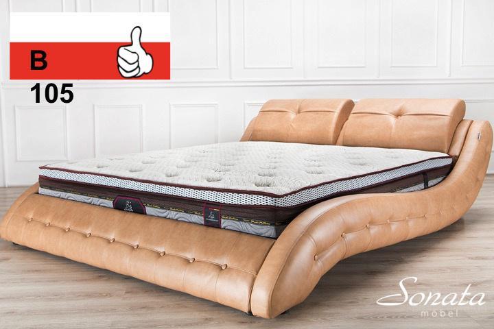 кровать двуспальная для интима-мд2