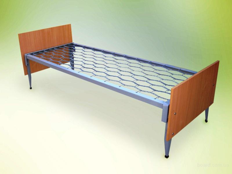 Металлические кровати с деревянными спинками