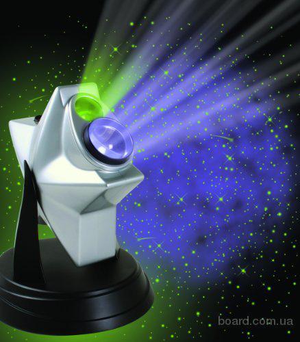 Проектор звездного неба домашний планетарий Laser Stars