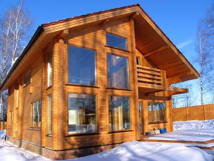 недорогие дома из бруса