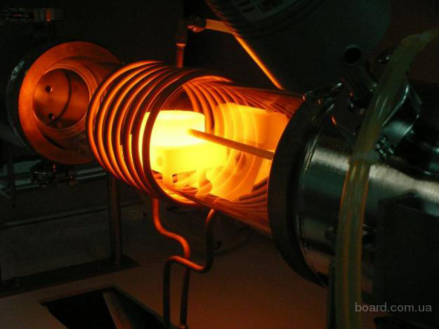 Электрика.  Индукционный нагрев и индукционная плавка металлов.